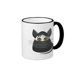 Creepy Candy Corn Cat Mugs