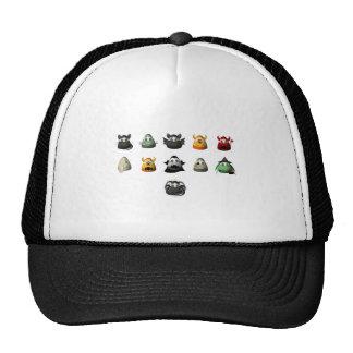 Creepy Candy Corn Creepies Rows Trucker Hat