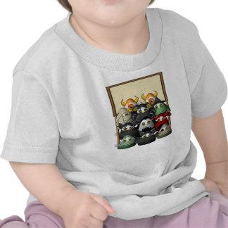 Creepy Candy Corn Creepies Sign Shirt