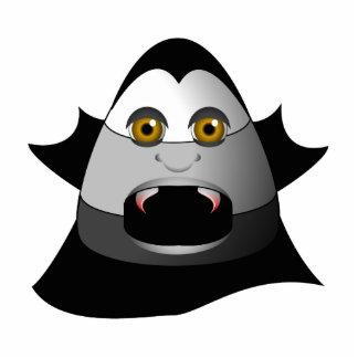Creepy Candy Corn Dracula Cutout