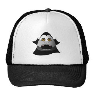 Creepy Candy Corn Dracula Mesh Hat
