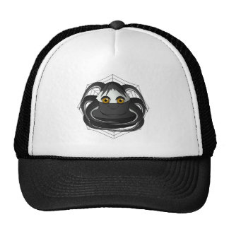 Creepy Candy Corn Spider Trucker Hat