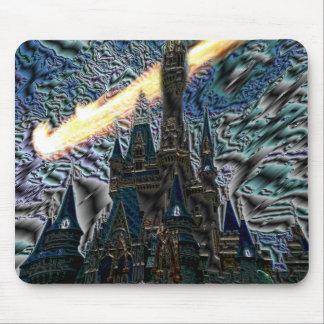 Creepy Castle Mouse Pad