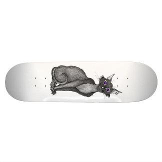 Creepy Cat skateboard