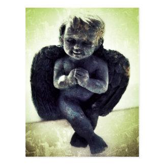 'Creepy Cherub' Postcard