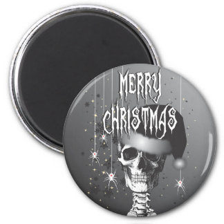 Creepy Christmas 2 Inch Round Magnet