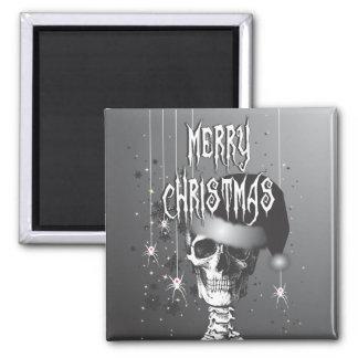 Creepy Christmas 2 Inch Square Magnet