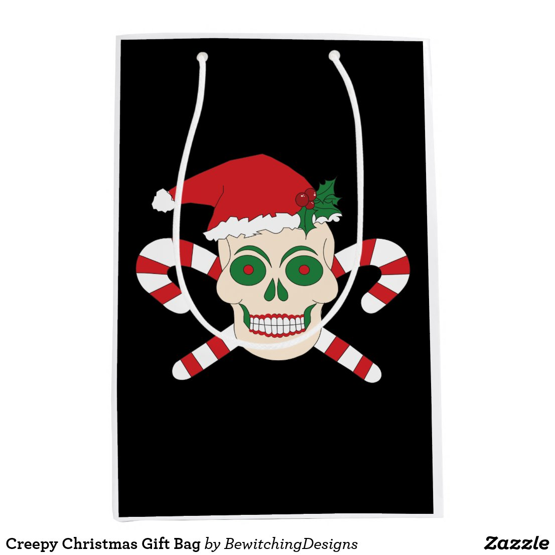 Creepy Christmas Gift Bag