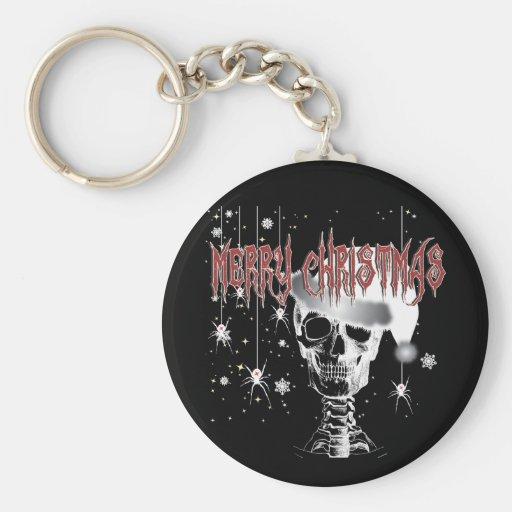 Creepy Christmas Keychains