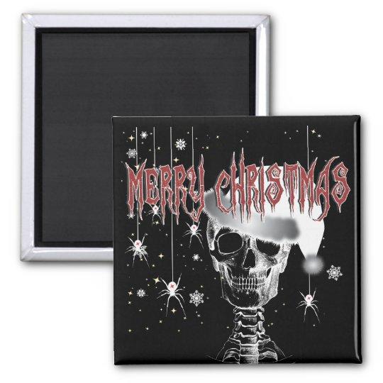 Creepy Christmas Magnet