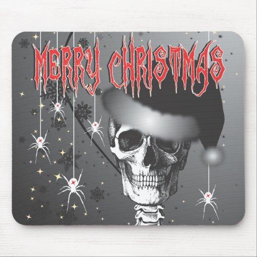 Creepy Christmas Mouse Pad