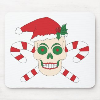 Creepy Christmas Mousepad