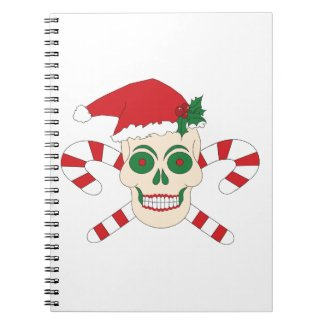 Creepy Christmas Notebook