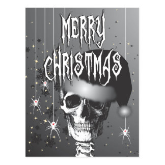 Creepy Christmas Postcard