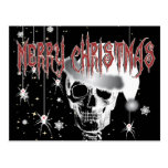 Creepy Christmas Postcard