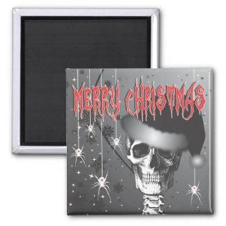 Creepy Christmas Refrigerator Magnets