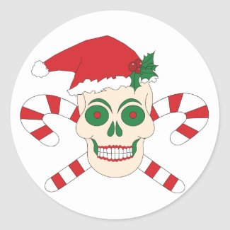 Creepy Christmas Stickers