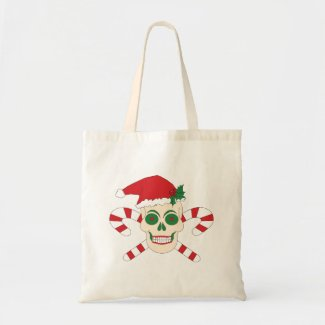 Creepy Christmas Tote Bag