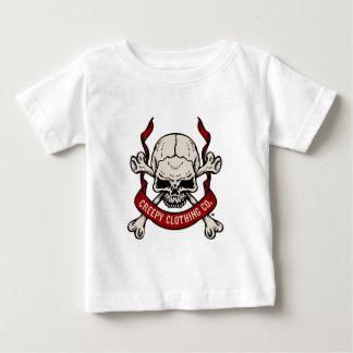 Creepy Clothing Skull Baby T-Shirt