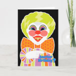 """Creepy Clown Birthday Scary Getting Older Card<br><div class=""""desc"""">Best for people who like creepy clowns,  after all,  you don"""