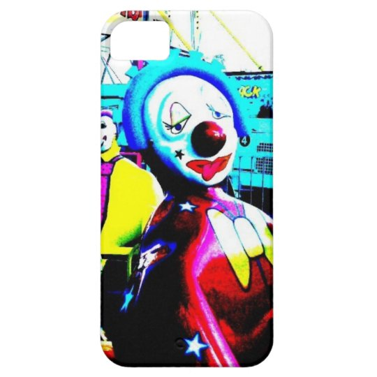 Creepy Clown Carnival Ride Art Photo Phone Case