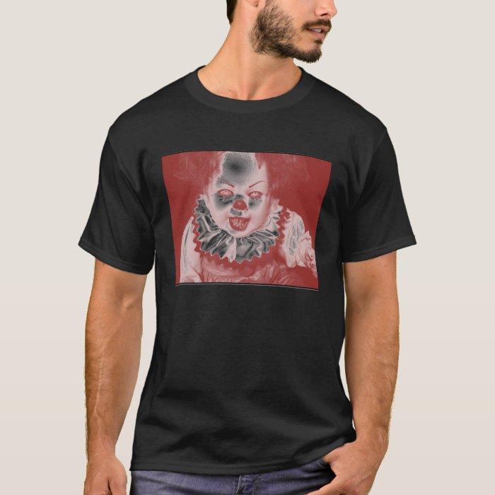 Creepy Clown Doll T-Shirt