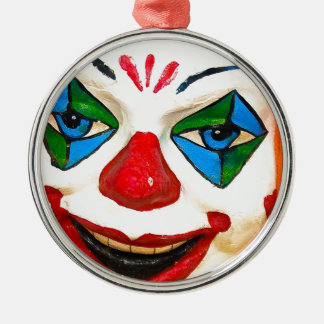 Creepy Clown Christmas Ornaments