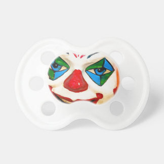 Creepy Clown Baby Pacifiers
