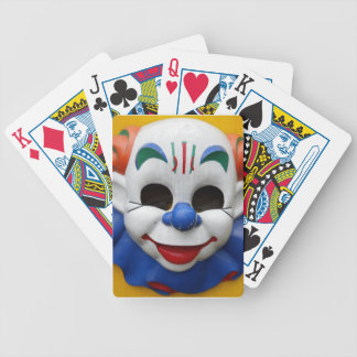 Creepy Clown Playing Cards