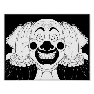 Creepy Clown Poster
