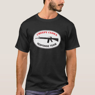 Creepy Clown Response Team T-Shirt