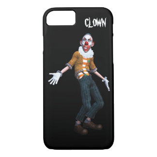 creepy clown what's up iPhone 8/7 case
