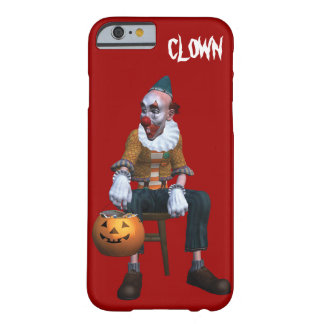 Creepy Clown With Pumpkin Barely There iPhone 6 Case