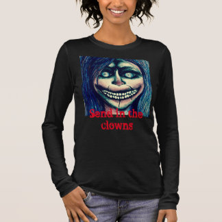 Creepy clown woman top