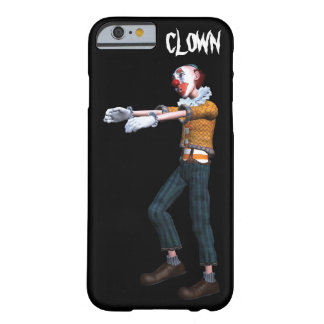 Creepy Clown Zombie Barely There iPhone 6 Case