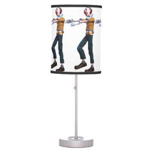 Creepy Clown Zombie Desk Lamp