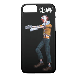 Creepy Clown Zombie iPhone 8/7 Case