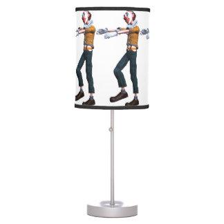 Creepy Clown Zombie Lamps