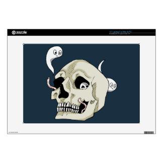 Creepy Crawler Skull Decals For Laptops