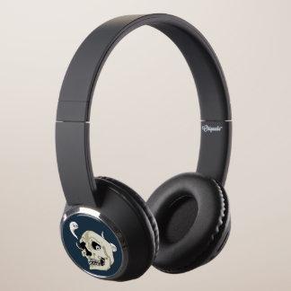 Creepy Crawler Skull Illustration Headphones