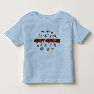 Creepy crawlers toddler t-shirt
