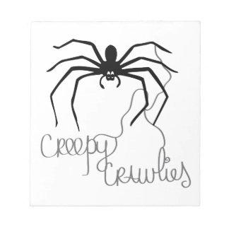 Creepy Crawlies Scratch Pads