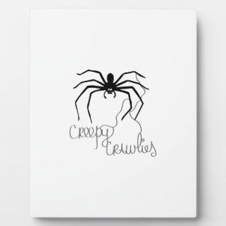 Creepy Crawlies Display Plaques