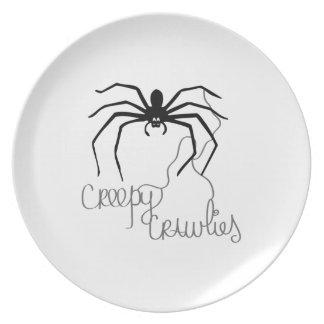Creepy Crawlies Dinner Plates
