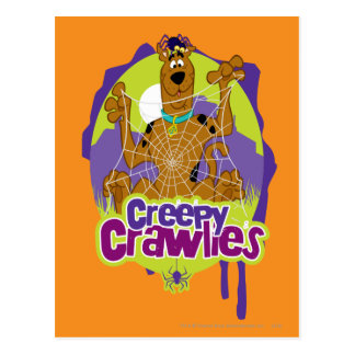 Creepy Crawlies Postcard