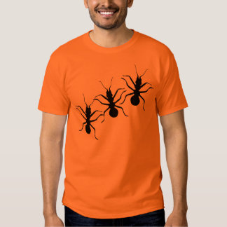 Creepy Crawly Black Ants Insects Shirt