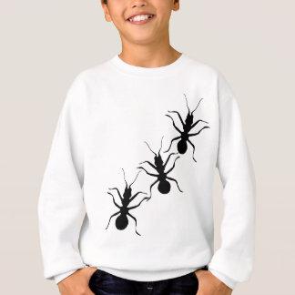 Creepy Crawly Black Ants Insects Sweatshirt