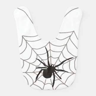 Creepy Crawly Spider Baby Bib