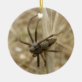 Creepy Crawly Spider Custom Birthday Ceramic Ornament