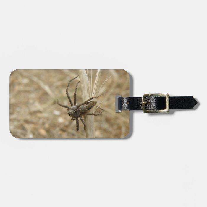 Creepy Crawly Spider Custom Luggage Tag